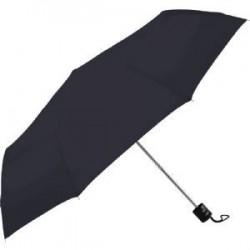 Black / Red Deluxe Auto Vented Windproof Golf Umbrella