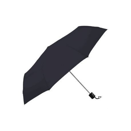 Black / Red Deluxe Auto Vented Windproof Golf Umbrella