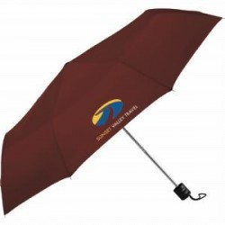 Black Deluxe Auto Vented Windproof Golf Umbrella