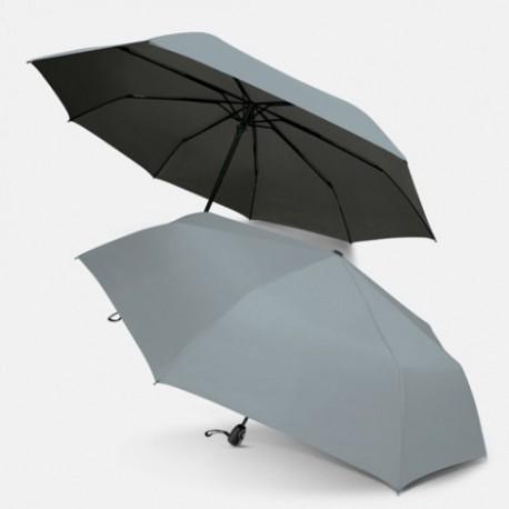 PEROS Silver Majestic Folding Umbrella