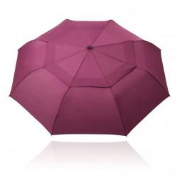 White /  Dark Blue Nimbus Budget Sports Umbrella