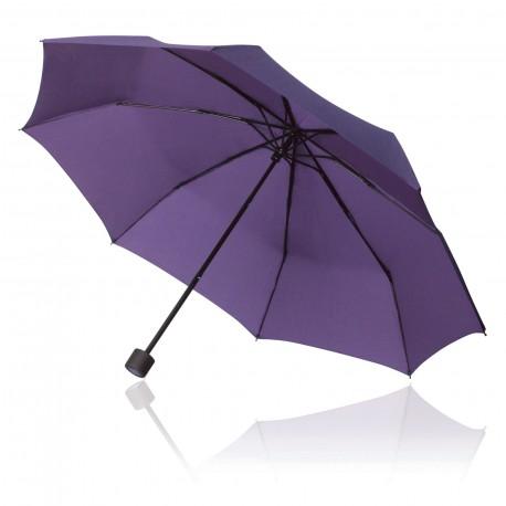 Light Blue / Black Pontiac Compact Folding Umbrella