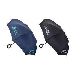Inverter Umbrella with C Handle