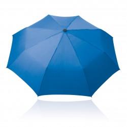 Solid Black Trident Vented Windproof Golf Umbrella