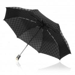 Black Trident Checkmate Vented Windproof Golf Umbrella
