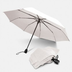 Navy Trident Checkmate Vented Windproof Golf Umbrella
