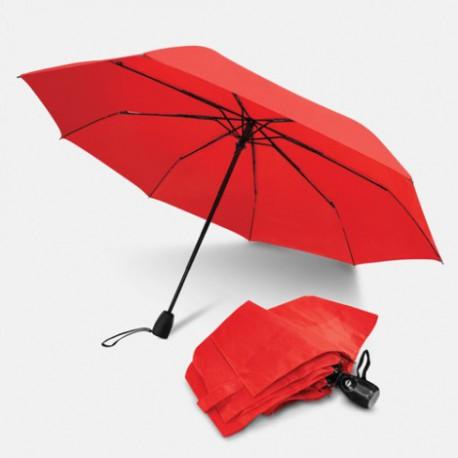 Orange Trident Checkmate Vented Windproof Golf Umbrella