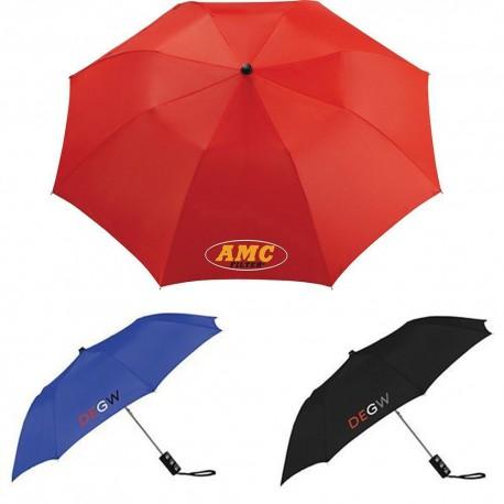 Seattle 91cm Folding Auto Umbrella
